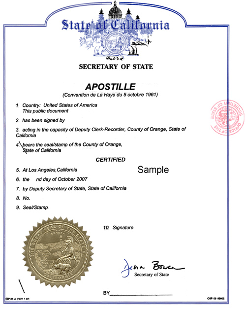 Image result for apostille